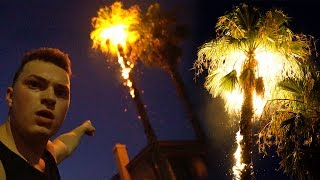 FIREWORK EXPLOSION GONE TERRIBLY WRONG!