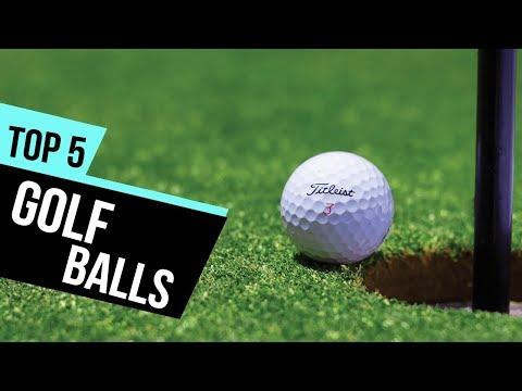 5 Best Golf Balls 2018 Reviews