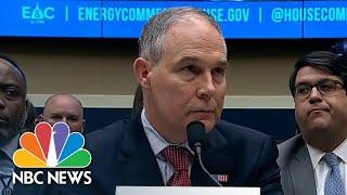 EPA Chief Scott Pruitt Resigns | NBC News
