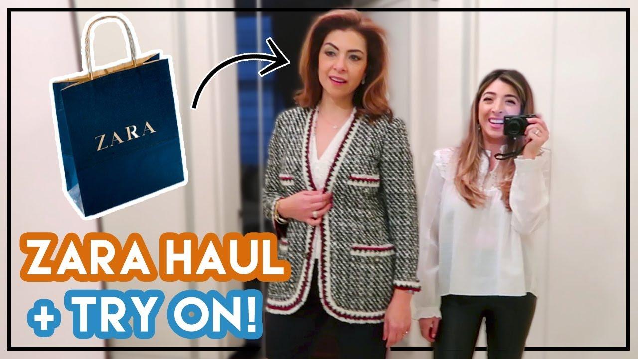 Shopping with My Mum! Zara Haul & Try on | Amelia Liana