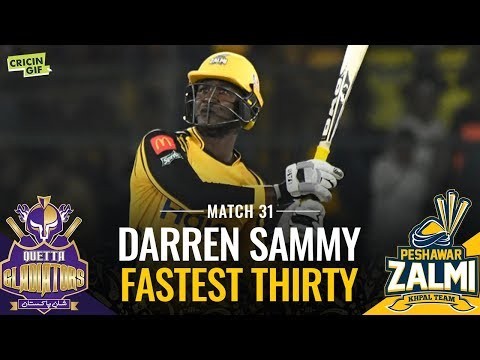 PSL 2019 Match 31: Peshawar Zalmi vs Quetta Gladiators | HEMANI FASTEST THIRTY