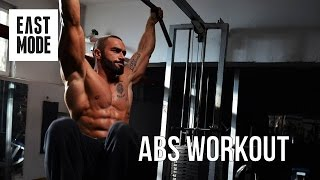 Lazar Angelov: Abs Workout