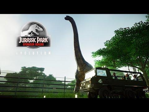 THE SAFARI ZONE! Brachi In The Rain | JPOG Park (Jurassic World: Evolution)