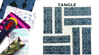 Sew Modern Quilts: Tangle For The Modern Quilt Block Series