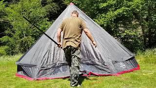10 Personen Zelt Bell 10 Test