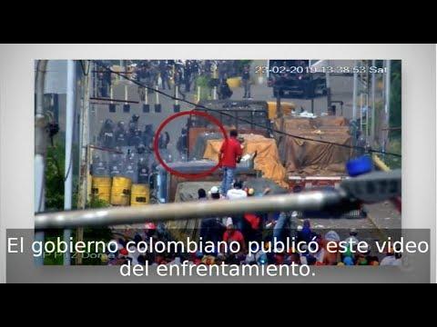 Estados Unidos acusó a Maduro por quemar ayuda en Venezuela. Un nuevo video genera dudas.