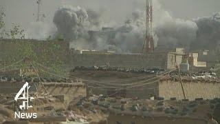 Watch: the moment British missiles hit in Iraq | Channel 4 News