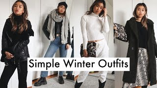 Simple Winter Outfit Ideas | Casual And Cute