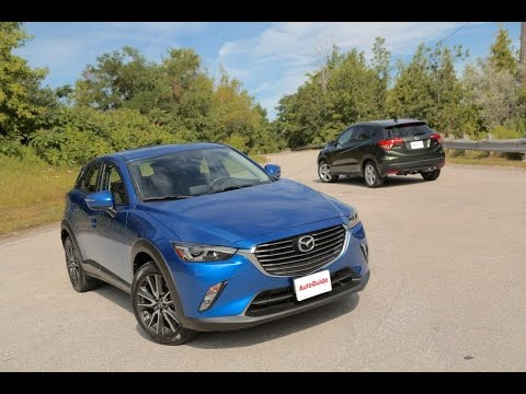 2016 Mazda CX-3 vs. 2016 Honda HR-V