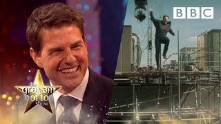 Footage of how Tom Cruise broke his ankle while filming his latest movie - The Graham Norton Show