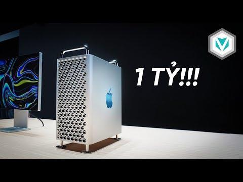 Tại sao Mac Pro 2019 Có Giá 1 TỶ ĐỒNG??
