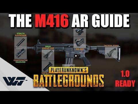 教你如何正確地使用M416這把槍