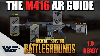 GUIDE: How to PROPERLY use the M416 Assault Rifle (It