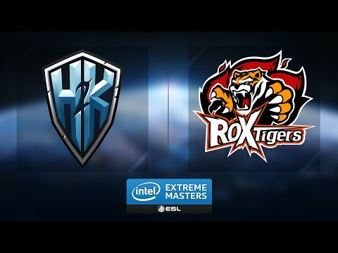 LoL - ROX Tigers vs. H2K - Group A Winners Game 2 - IEM Katowice 2017