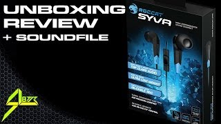 New Roccat Syva In-Ear Headset - play-gen.de Unboxing - Review + Microphone Soundfile