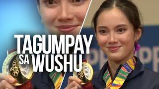 24 Oras: Agatha Wong, wagi ng gintong medalya sa Wushu Taijiquan kahit may mga injury sa katawan