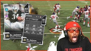 You WILL NOT Believe What Bo Jackson Did In This Game!!! (Madden 20 No Money Spent Ultimate Team)