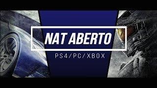 Como Abrir NAT Do PC/PS4/XBOX ONE!!!!  2018