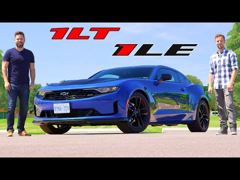 2019 Chevrolet Camaro 1LT 1LE Review // $30000 4-Cylinder Cornering Machine