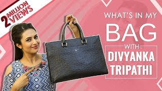 What's In My Bag With Divyanka Tripathi  | Bag Secrets Revealed | Exclusive