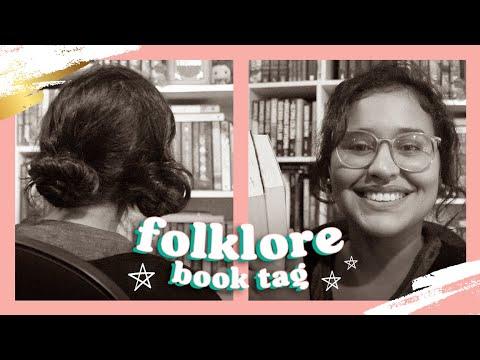 FLOKLORE BOOK TAG   Abdução Literária