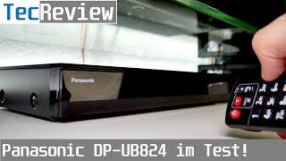 [REVIEW] Panasonic DP-UB824 UHD-BD-Player mit Dolby Vision & HDR10+ im Test! | TecReview | 4K