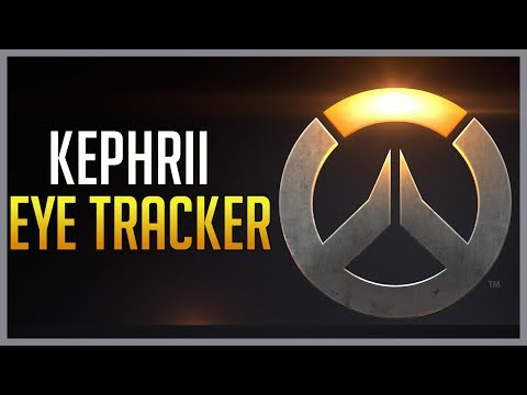 Kephrii 打鬥陣的時候眼睛都看哪裡? 瞳孔追蹤