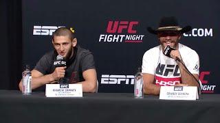 UFC Вегас 11: Пресс-конференция