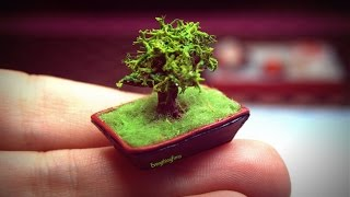 Miniature Bonsai Tutorial-Polymer clay