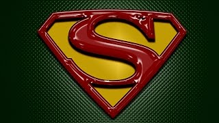 Superman Logo In Photoshop - Photoshop Tutorial - Photoshop CC