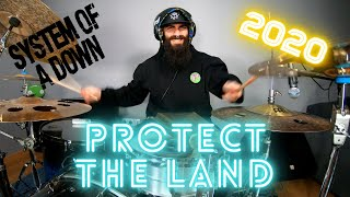 SYSTEM OF A DOWN | PROTECT THE LAND DRUM COVER (2020 NEW SONG)
