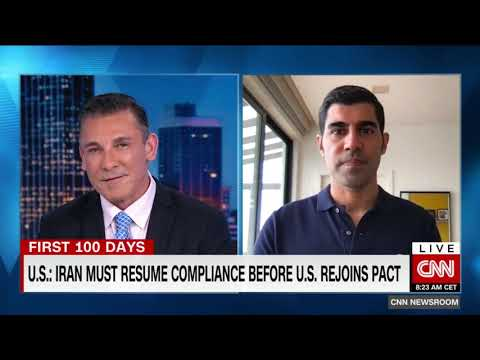 CNN Interview with Parag Khanna | America under Biden: Engaging with the world again
