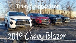 2019 BLAZER Trim Comparison - Blazer-RS-Premier