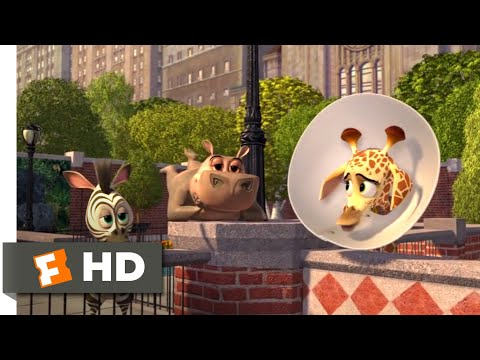 Madagascar: Escape 2 Africa (2008) - Baby Alex Goes to New York Scene (1\/10) | Movieclips