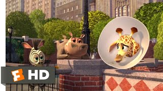 Madagascar: Escape 2 Africa (2008) - Baby Alex Goes To New York Scene (1/10) | Movieclips