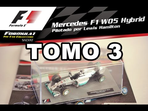 ¡DE PEDO LO CONSEGUI! - F1 The Car Collection - TOMO 3 - Salvat -