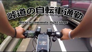 〇電動アシスト自転車 YAMAHA PAS Brace Lで自転車通勤(京都老ノ坂峠)