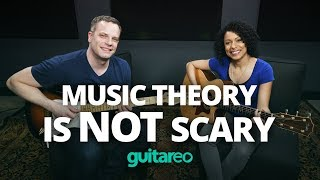 Music Theory Is NOT Scary! - Beginner Guitar Lesson