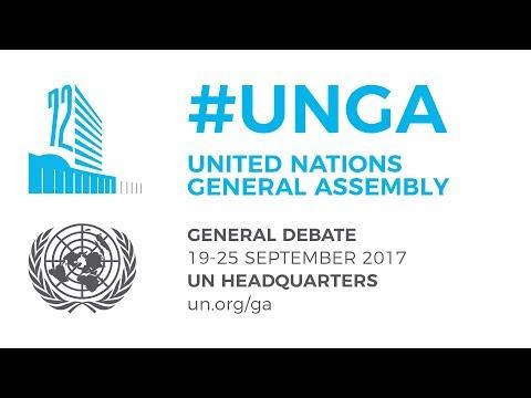 #UNGA General Debate – 23 September 2017 – Ireland, DPR Korea, and more