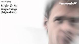 ASOT524: Foyle & Zo - Simple Things (Original Mix)