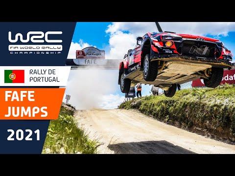 頑丈すぎるサスペンションで大ジャンプを一気見できる動画!WRC 2021 第4戦ラリー・ポルトガル