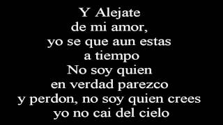 Camila   Alejate De Mi ~Lyrics   Letra~