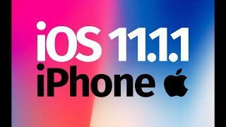 How to Update to iOS 11.1.1 - iPhone SE iPhone 6S iPhone 7 iPhone 5S iPhone 8