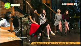걸스데이 Girl's Day   Someone Like You Adele @ 피크닉라이브 소풍 20141220 HIGH
