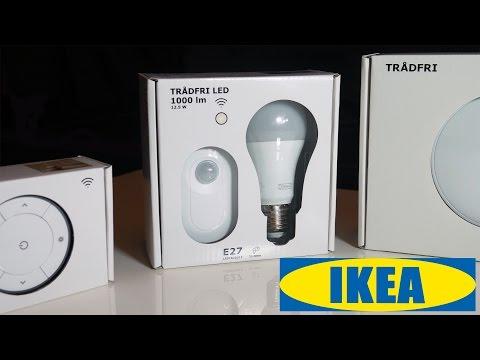 IKEA TRÅDFRI 💡 Lights + Bewegungsmelder Unboxing, Tests und erster Eindruck [Deutsch] 4K