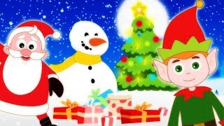 CHRISTMAS Finger Family  And Kids Songs For Children by HooplaKidz