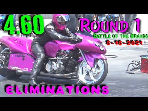"""4.60 Class Eliminations """"Battle of the Brands"""" Rickey Gadson vs Chris Moore 5-15-2021 GALOT"""