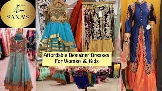 AFFORDABLE Pakistani Designer Dresses Feat. SANAS | Kids Clothing | Ayesha N