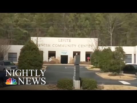 New Wave Of Bomb Threats Target US Jewish Centers | NBC Nightly News