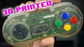 How I made my own Transparent Super Nintendo Controller